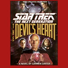 Star Trek, The Next Generation: The Devil's Heart (Adapted)  by Carter Carmen Narrated by Gates McFadden