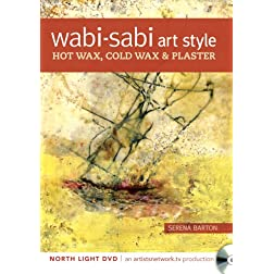 Wabi Sabi Art Style - Hot Wax, Cold Wax and Plaster
