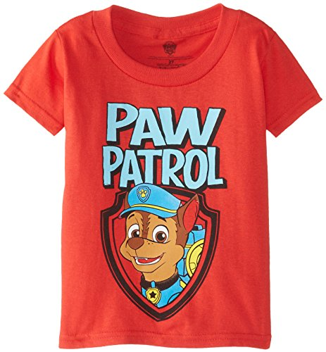 Paw Patrol Little Boys' Chase Toddler Boys Tee 3d светильник paw patrol chase