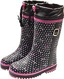 【防寒長靴】WILDTREE ワイルドツリー キッズ&ジュニア防寒長靴 AK155 ブラック 18.0cm
