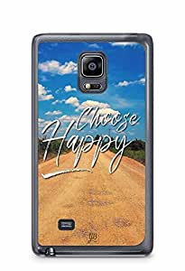 YuBingo Choose Happy Designer Mobile Case Back Cover for Samsung Galaxy Note 4 Edge