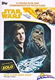 2018 Topps SOLO: A Star Wars Story EXCLUSIVE HUGE Factory Sealed 10 Pack Retail Box with VERY SPECIAL PATCH Card! Includes 10 Parallels & 10 Insert Cards! Look for Autographs & Sketch Cards! WOWZZER!