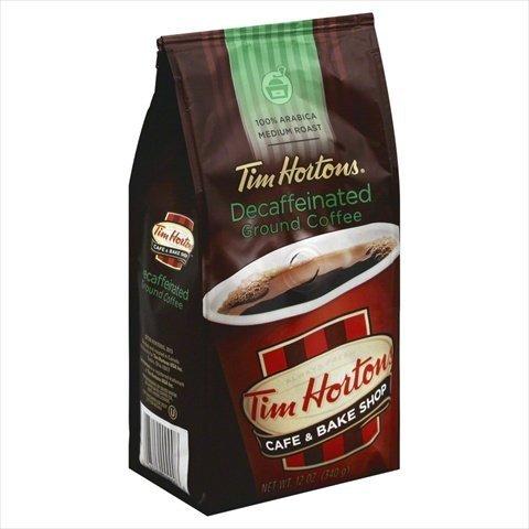 TIM HORTON COFFEE GRND DECAF 100% AB-12 OZ -Pack of 6 (Tim Horton Coffee Pot compare prices)