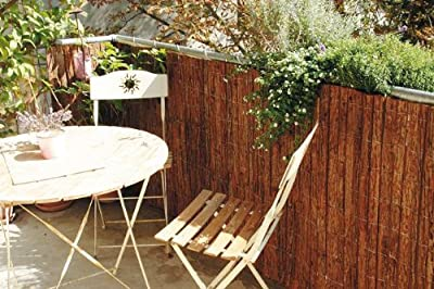 Rindenmatte, Material: Spiesstanne 1 Stück, 300 x 90 cm Material: Spiesstanne von Gartengruen24 auf Gartenmöbel von Du und Dein Garten