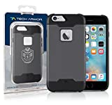 Tech Armor Active Sport Series Case for Apple iPhone 6/6s (Space Grey-Black)