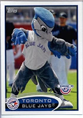 2012 Topps Opening Day Mascots Baseball Card #M -3 Ace - Toronto Blue Jays - MLB Trading Card