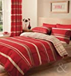 CONTEMPORARY STRIPED Bed Duvet Cover...