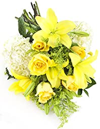 Yellow Vineyard Bouquet -Without Vase