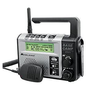 Midland XT511 GMRS Two-Way Emergency Crank Radio