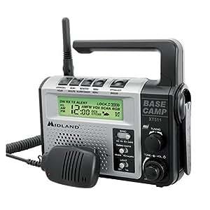Midland XT511 GMRS Two-Way Emergency Crank Radio