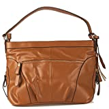 Vero Couture Brown Tassel Handbag