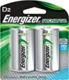 Energizer NH 50BP-2 Rechargeable 2PK D NiMH Battery