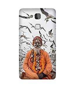 Aghori Baba Back Cover Case for Huawei Ascend Mate 7