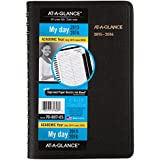 AT-A-GLANCE Daily Planner / Appointment Book, Academic Year, 12 Months, July 2015-June 2016, 4.88 x 8 Inch Page Size (70-807-05)