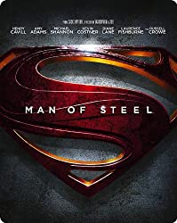 Man of Steel - Limited Edition Steelbook [Blu-ray] [2013] [Region Free]