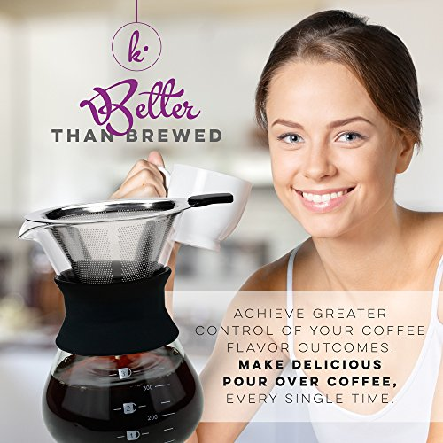 Pour-Over-Manual-Hand-Drip-Coffee-Maker-Glass-Carafe-Coffeemaker-Pot-with-Stainless-Steel-Permanent-Filter-3-Cup