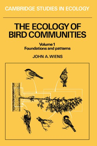 The Ecology of Bird Communities (Cambridge Studies in Ecology)