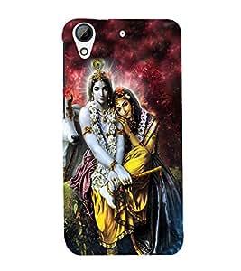Lord RadhaKrishna Designer Back Case Cover for HTC Desire 728g Dual::HTC Desire 728G::HTC Desire 728