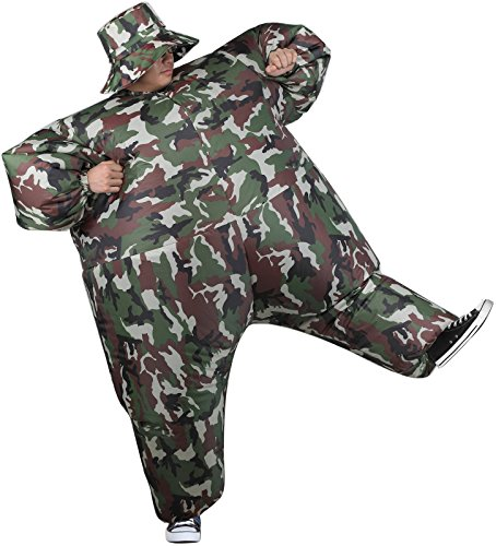 Gemmy - Inflatable Camosuit Adult Costume