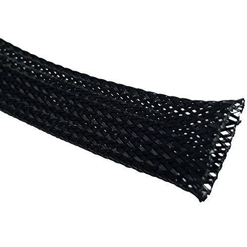 1-4-pet-expandable-braided-sleeving-100-feet-color-black