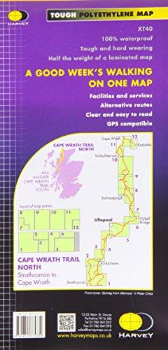 Cape Wrath Trail North XT40: Route Map