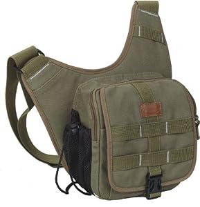Fancier Delta 400a Professional SLR Camera Sling Bag (Military Green)
