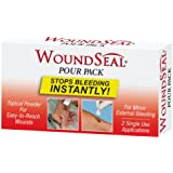 Pac-Kit 90358 Pour Woundseal Blood Clotting Powder Pack (Box of 2)