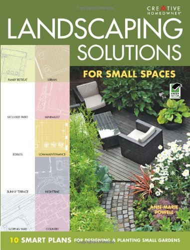 Landscaping solutions for small spaces 10 smart plans for designing planting small gardens - Solutions for small spaces plan ...