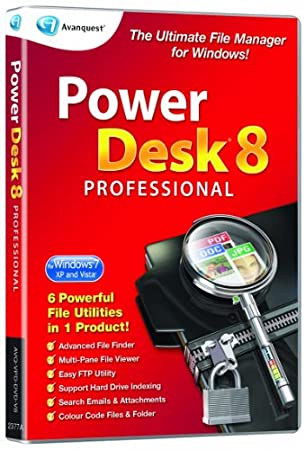 Powerdesk Professional 8 (PC)