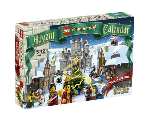 LEGO Kingdoms Exclusive Set #7952 2010 Advent Calendar Amazon.com