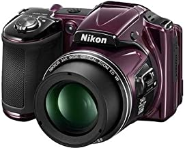 Nikon COOLPIX L830 16 MP CMOS Digital Camera with 34x Zoom NIKKOR Lens and Full 1080p HD Video (Plum) (Certified Refurbished)