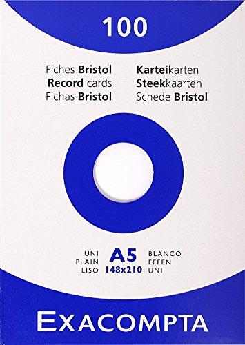 exacompta-13308e-cartoncini-bristol-14x21-cm-bianco