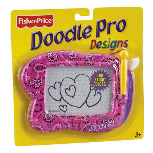 Doodle Pro Expressions: Pink Paisley Print
