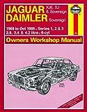 Motionperformance Essentials Haynes Garage Quality Car Repair Manual/Book For Jaguar XJ6, XJ & Sovereign; Daimler Sovereign (68 - Oct 86) up to D Including a De-Mister Pad and 1 Car Air Freshner.
