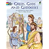 Greek Gods and Goddesses (Dover Classic Stories Coloring Book)