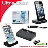 AmaziPro8 iPhone Charger Docking Station, Cradle Charging Sync...
