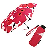(マリメッコ) MARIMEKKO マリメッコ 傘 MARIMEKKO 038654 001 PIENI UNIKKO MINI MANUAL 折り畳み傘 WHITE/RED[並行輸入品]