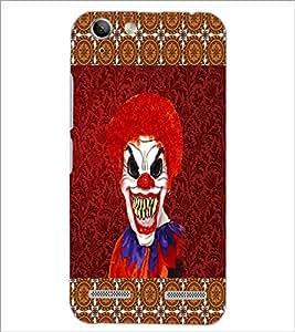 PrintDhaba Scary Joker D-4067 Back Case Cover for LENOVO VIBE K5 (Multi-Coloured)