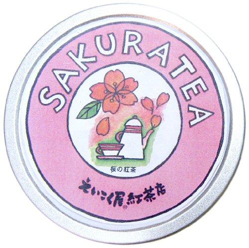 桜紅茶 缶入り 50g