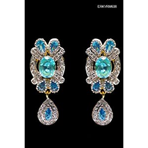 Earrings Pristine Blue Stone Earrings