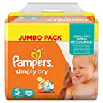 Pampers Windeln Simply Dry Gr. 5 Juni...