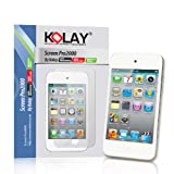 4G Touch LCD 6 Pack Screen Protector & Cleaning Cloth Kit for New Apple iPod Touch 4 4th Generation - 8GB 32GB 64GB