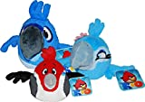 Angry Birds Rio Set of 3 Talking Rio 8 Inch DELUXE Plush Figures Blu, Jewel Pedro