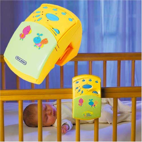 Tomy Nature'S Sounds Baby Lullaby Music Cot Mobile Player Night Light