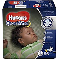 Huggies Size 4 56 ct. OverNites Overnight Diapers