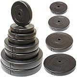 "Hardcastle Vinyl 1"" Weight Plates - 2x 2.5kg/5kg/10kg/15kg/1x 20kg"