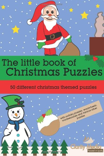 The little book of Christmas Puzzles: 50 different Christmas themed puzzles