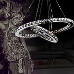 Luxury Modern Crystal LED Pendant wit...