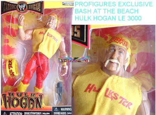Buy Low Price Jakks Pacific WWE Wrestling Exclusive Limited Edition Action Figure Hulk Hogan (The Day Hulk Turned Heel) (B000JWS7JK)
