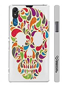 Sony Xperia Z1 Skull Candy designer mobile hard shell case by Enthopia